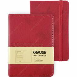 Cuaderno con Hojas Punteadas KRAUSE + Funda Tamaño A6 Rojo