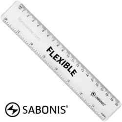 Regla 20 cm Flexible SABONIS (Color Aleatorio)