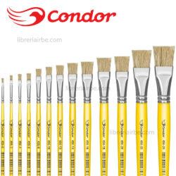 Pincel Plano Condor Serie 456 por Unidad