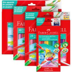 EcoLápices de Colores Acuarelables Faber-Castell