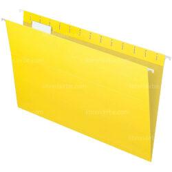 Folder Colgante - Gavetero Tamaño Oficio Amarillo
