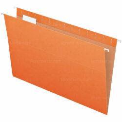 Folder Colgante - Gavetero Tamaño Oficio Naranja