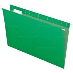 Folder Colgante - Gavetero Tamaño Oficio Verde