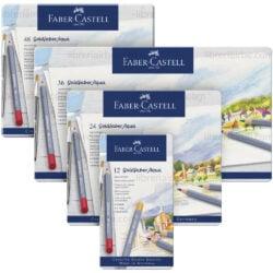 Lápices de Color Acuarelables Faber-Castell Goldfaber Aqua
