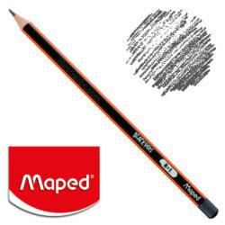 Lápiz de Grafito Triangular Negro Maped Black'Peps B