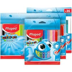 Marcadores Lavables Maped Color'Peps Ocean Sets